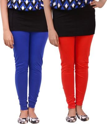 carrol Women's Red, Blue Leggings
