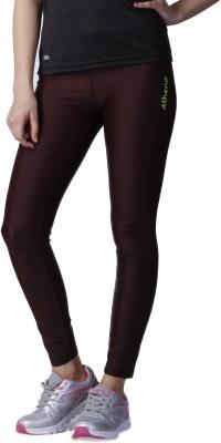 Atheno Women's Brown Leggings
