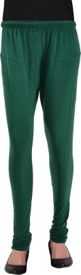 Heart&Arrow Women's Green Leggings