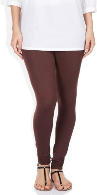R R Women's Brown Leggings