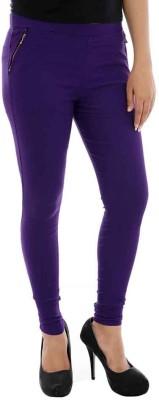 Paulzi Women's Purple Jeggings