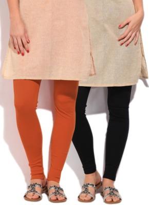Fort Collins Women's Black, Orange Leggings