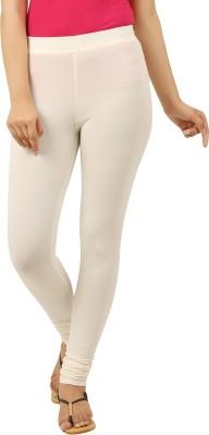 New Darling Women's White Leggings