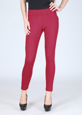 Riot Jeans Women's Pink Jeggings