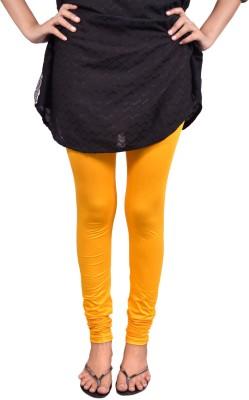 Anuradha Women,s Yellow Leggings