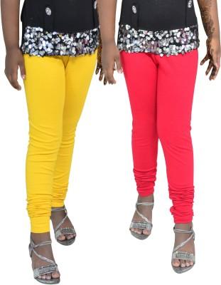 1 For Me Girl,s Yellow, Red Leggings