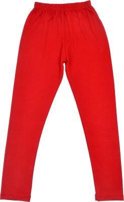 Perky Girl's Red Leggings