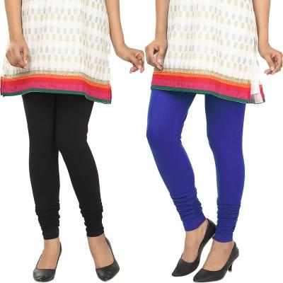 Agrima Fashion Women's Black, Blue Leggings