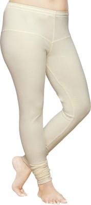 Pomelo Women's White Leggings