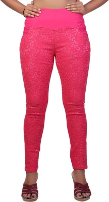 Velveeta18 Women's Pink Jeggings