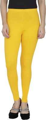 Anekaant Girl's Gold Leggings