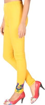 Banjara India Women's Yellow Leggings