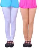 Anubhaviya Women's White, Beige Leggings...