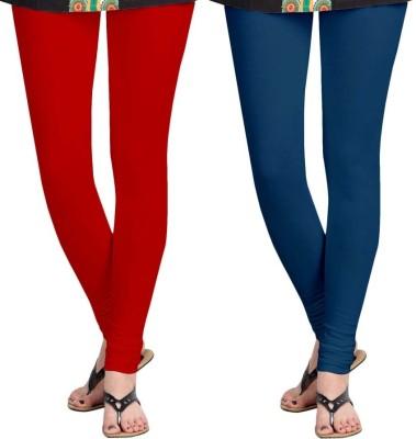 Roshni Creations Women's Purple, Red Leggings