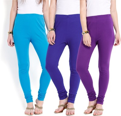 Ten on Ten Women's Purple, Blue, Blue Leggings