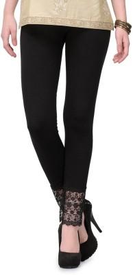 Sanchi Collection Women's Black Leggings