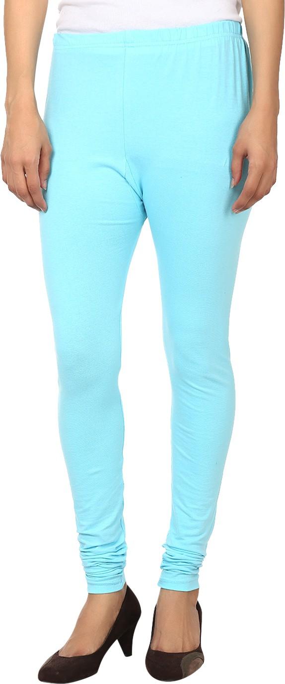 Awa Womens Blue Leggings