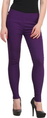 PRIHO Women's Purple Jeggings