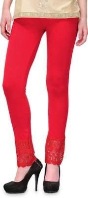 Rsr Life Style Women's Red Leggings