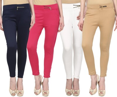 FIFO Women's Multicolor Treggings
