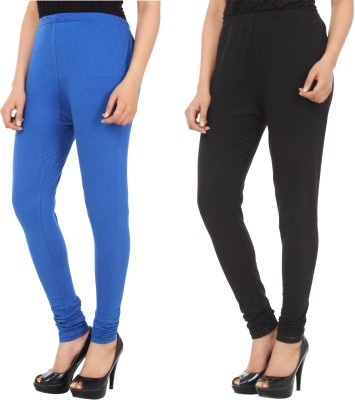 Xposé Women's Black, Blue Leggings