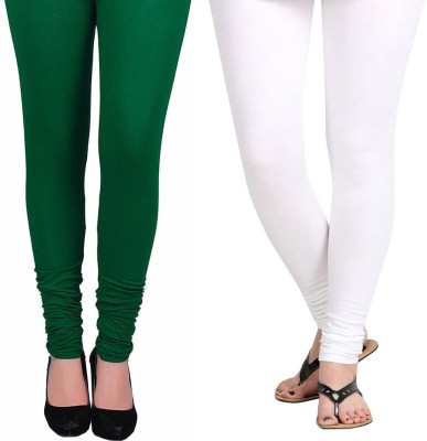 Vastra Buzz Women's Green, White Leggings