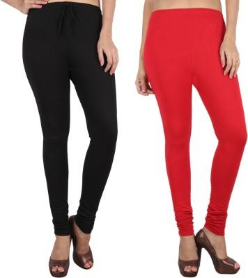 Danbro Women's Black, Red Leggings