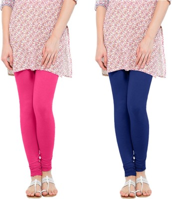 Oh Fish Women's Pink, Blue Leggings