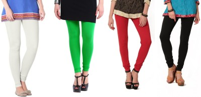 Angel Soft Women,s White, Green, Red, Black Leggings