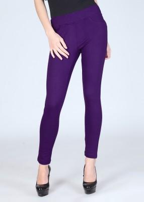 Riot Jeans Women's Purple Jeggings