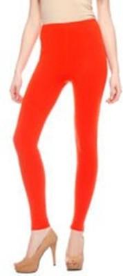 Stylo Junction Women's Orange Leggings