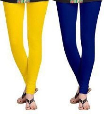 Avgi Women's Yellow, Blue Leggings