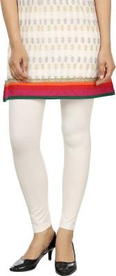 desistyle Women's White Leggings