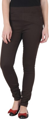 Irene Women's Brown Treggings