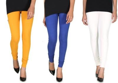 Ally Of Focker Women's Blue, White, Yellow Leggings