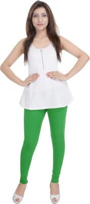 Shop Rajasthan Women,s Light Green Leggings
