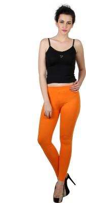 Twin Birds Women's Orange Leggings