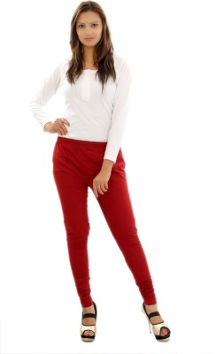 Mountain Colours Women's Red Leggings