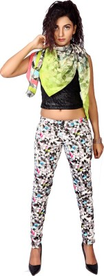 IRTALUCY Women's Multicolor Jeggings