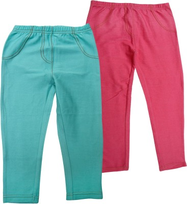 Jus Cubs Girl's Multicolor Jeggings