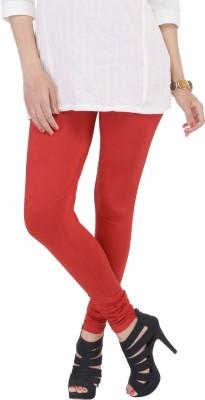 SANA FAB Women's Red Leggings