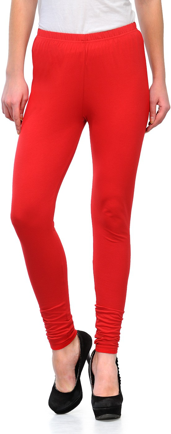 Ffu Womens Red Leggings