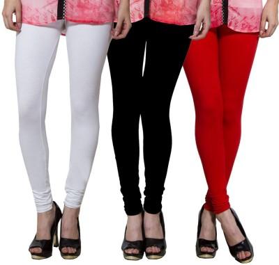 Both11 Women's White, Black, Red Leggings