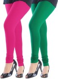 Emma Fashion Women's Green, Pink Legging...