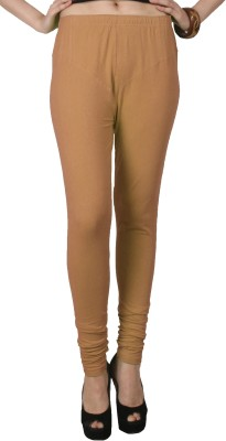 C/Cotton Comfort Women's Brown Leggings