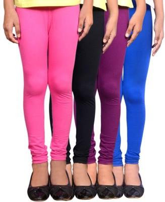 Roshni Creations Women's Pink, Black, Purple, Blue Leggings