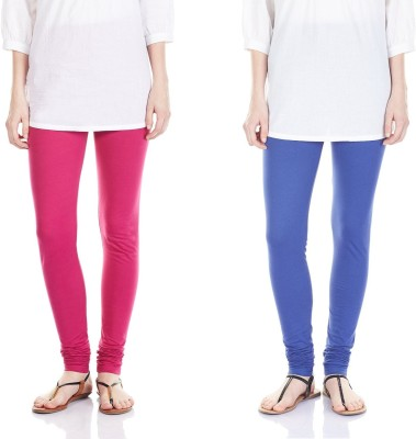 SRS Women's Pink, Dark Blue Leggings