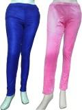 Miraaya Women's Blue Jeggings (Pack of 2...