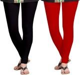 Zacharias Women's Black, Red Leggings (P...