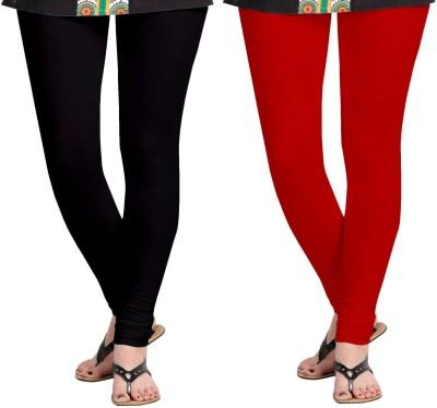 ZACHARIAS Women's Black, Red Leggings